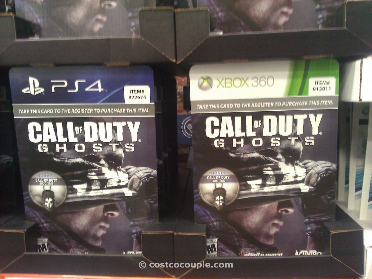Call of Duty Ghosts Videogame Costco 1