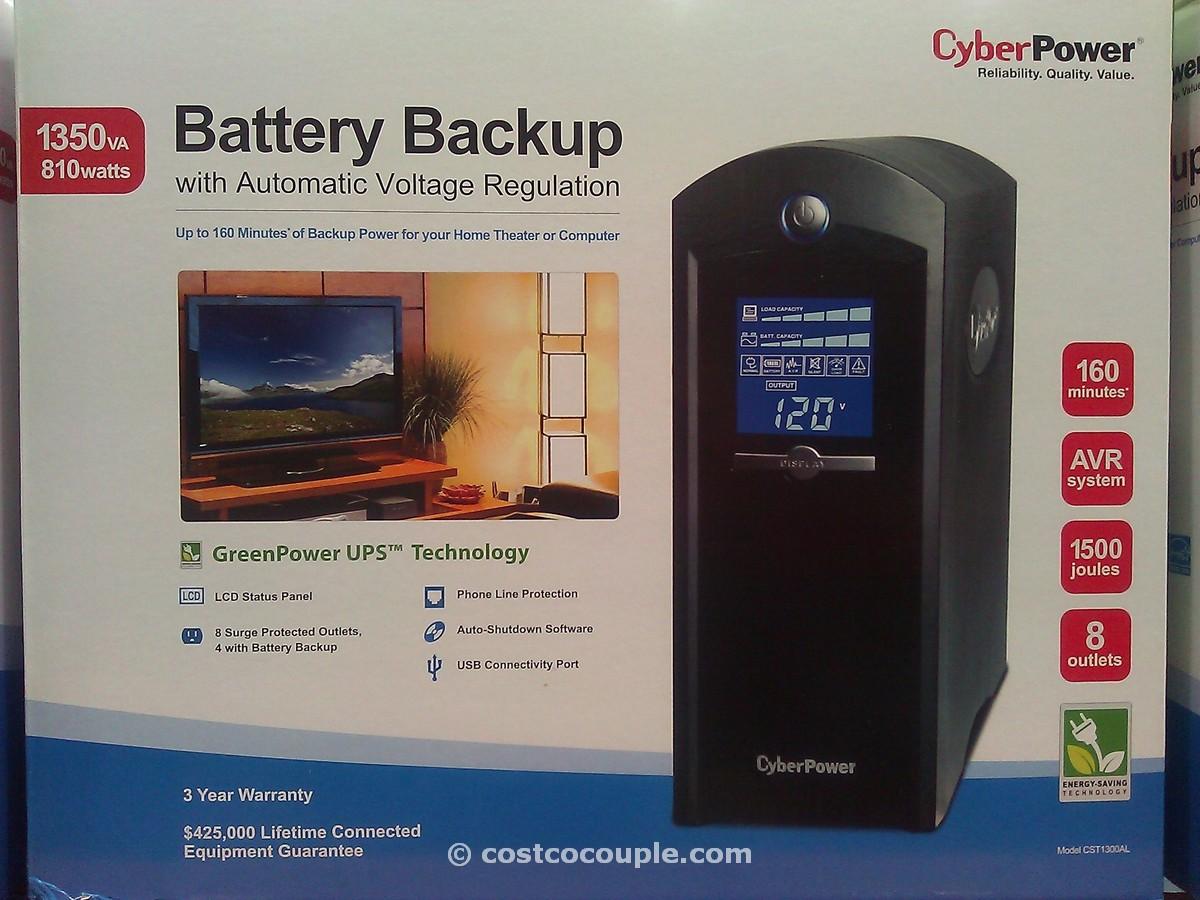 Cyberpower Battery Backup Costco 3