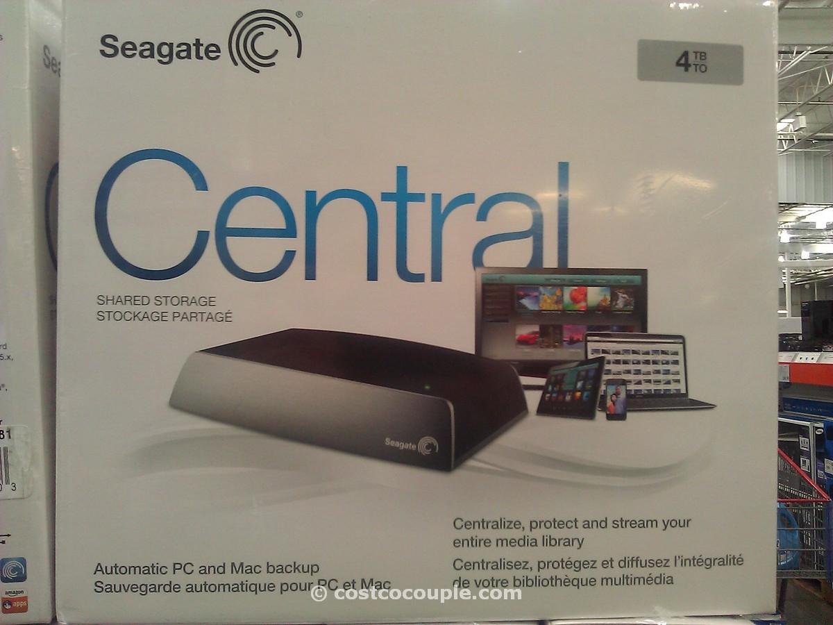 Seagate Central Network Attached Storage Drive Costco 4