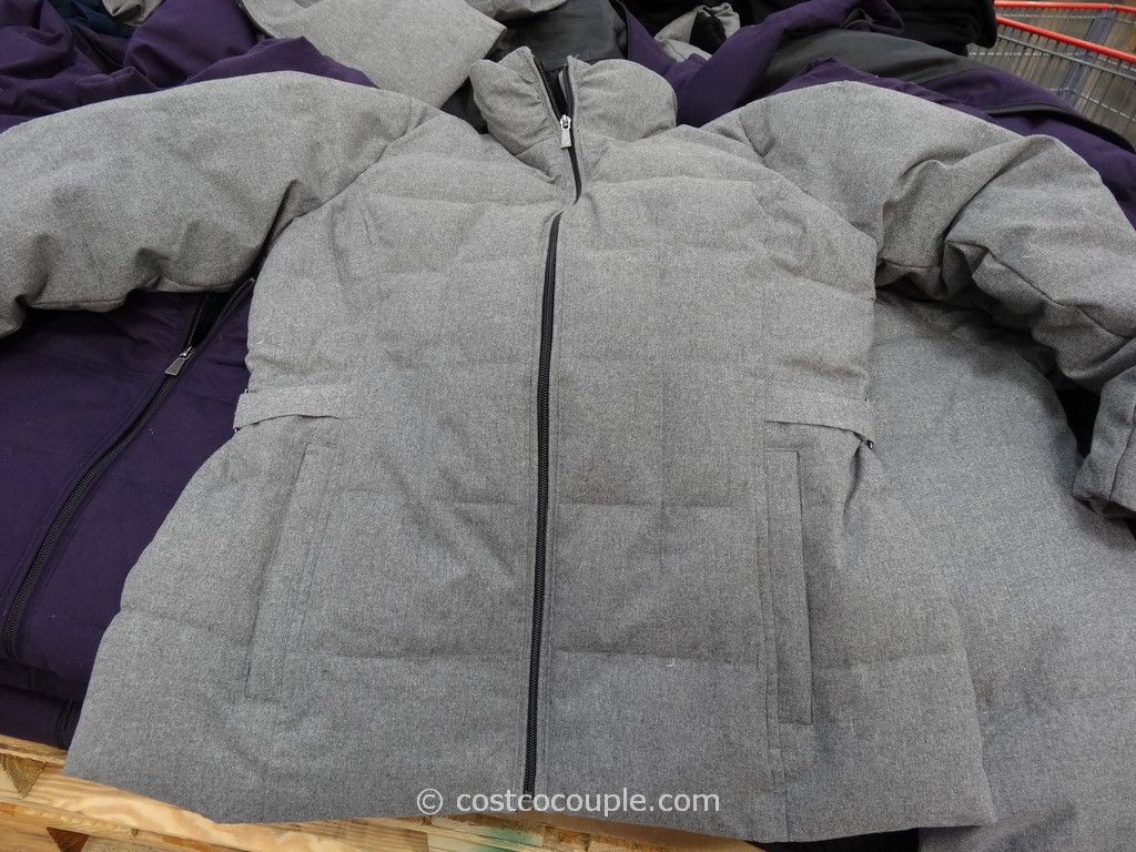 Weatherproof Ladies Down Jacket With Knit Collar Costco 2