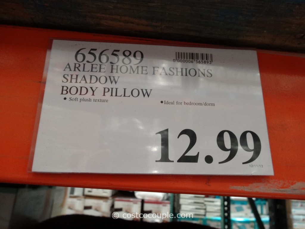Arlee Home Fashions Decorative Body Pillow