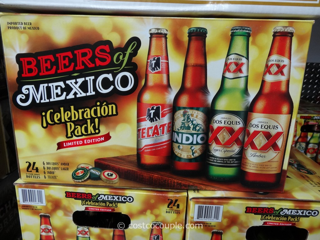 Beers of Mexico Variety Pack Costco 3