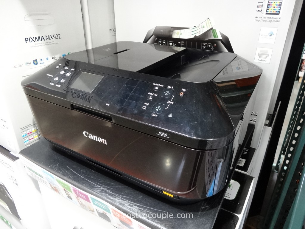 Canon Pixma Wireless All-In-One Inkjet MX922 Costco 1