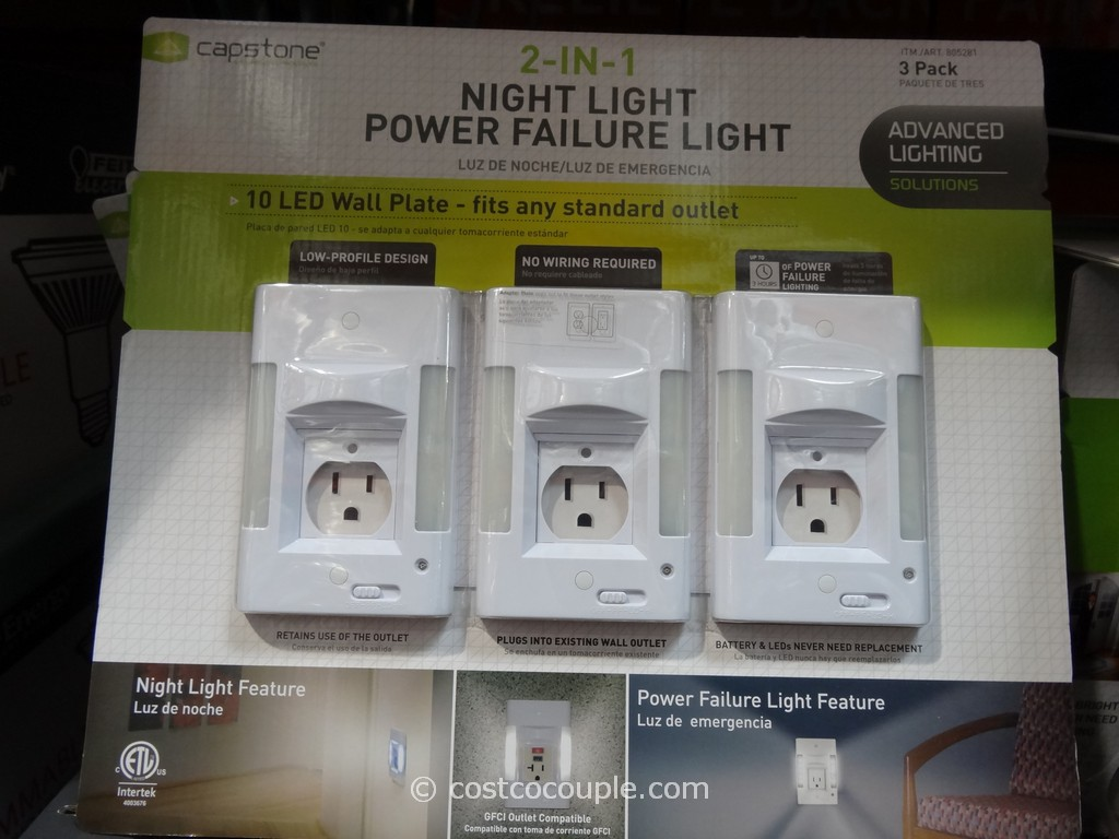 Capstone Night Light Power Failure Light Costco 3