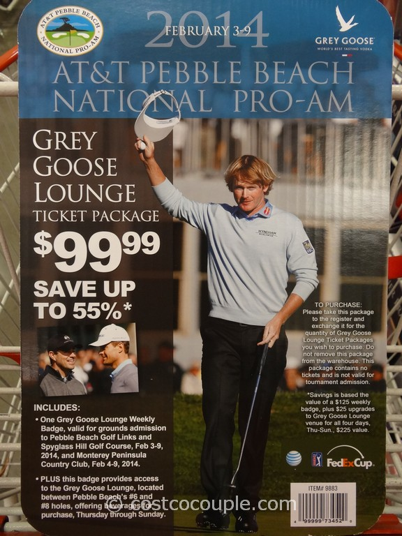Gift Card 2014 AT&T Pebble Beach National Pro-Am Costco 1