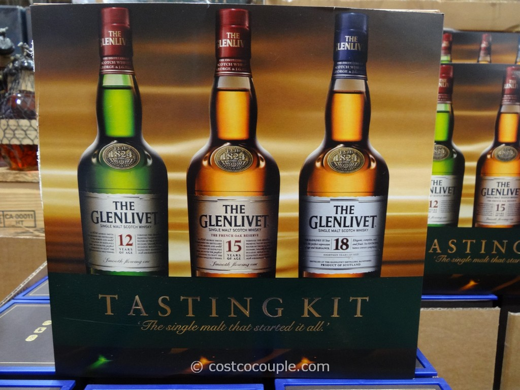 Glenlivet Tasting Kit Costco 1