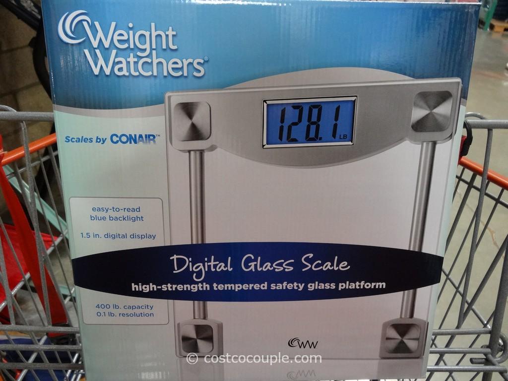 Weight Watchers Digital Glass Scale Costco 3