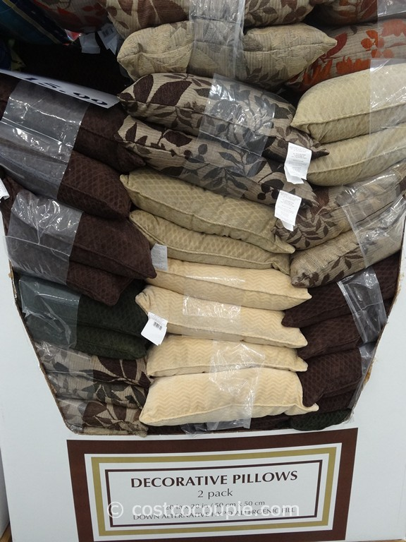 decorative pillows 2-pack Costco Pillows