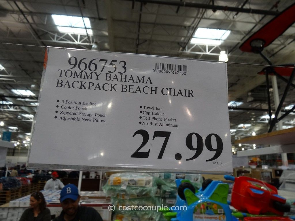Tommy Bahama Backpack Beach Chair Costco 7