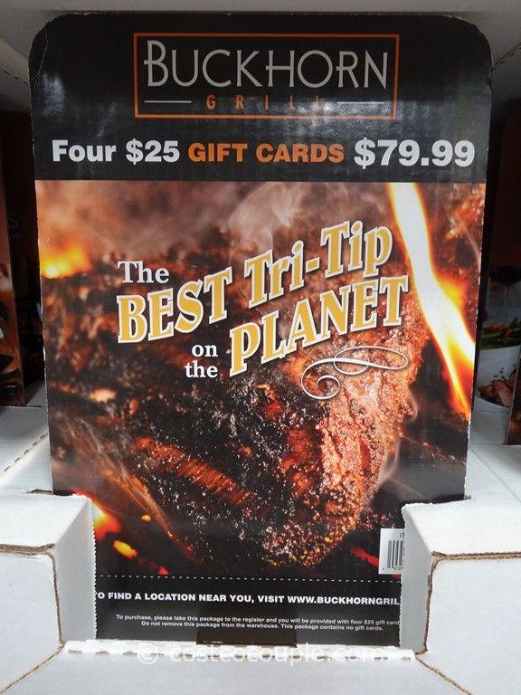 Gift Card Buckhorn Grill Costco 2