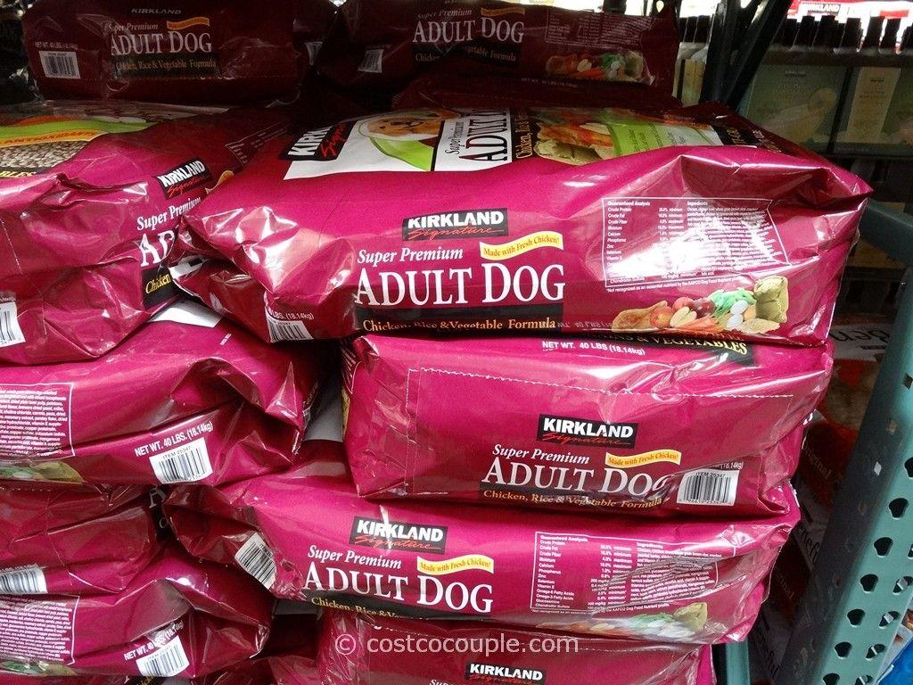 Kirkland Signature Super Premium Chicken Adult Dog Food Costco 3