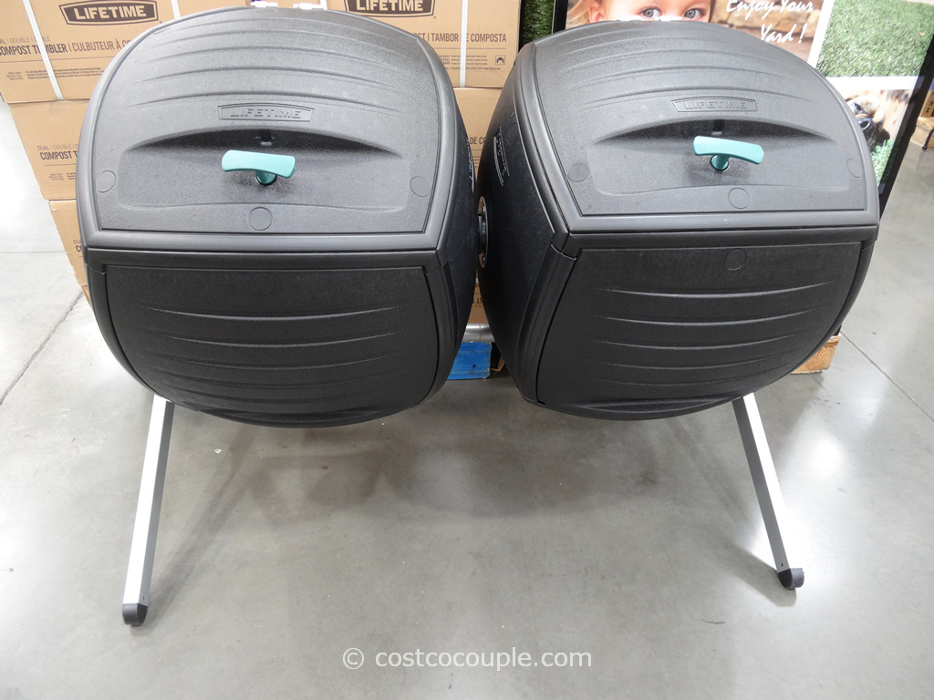 Lifetime Products Dual Composter Model# 60072 Costco 2