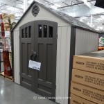 Lifetime Products Resin Outdoor Storage Shed Costco 1