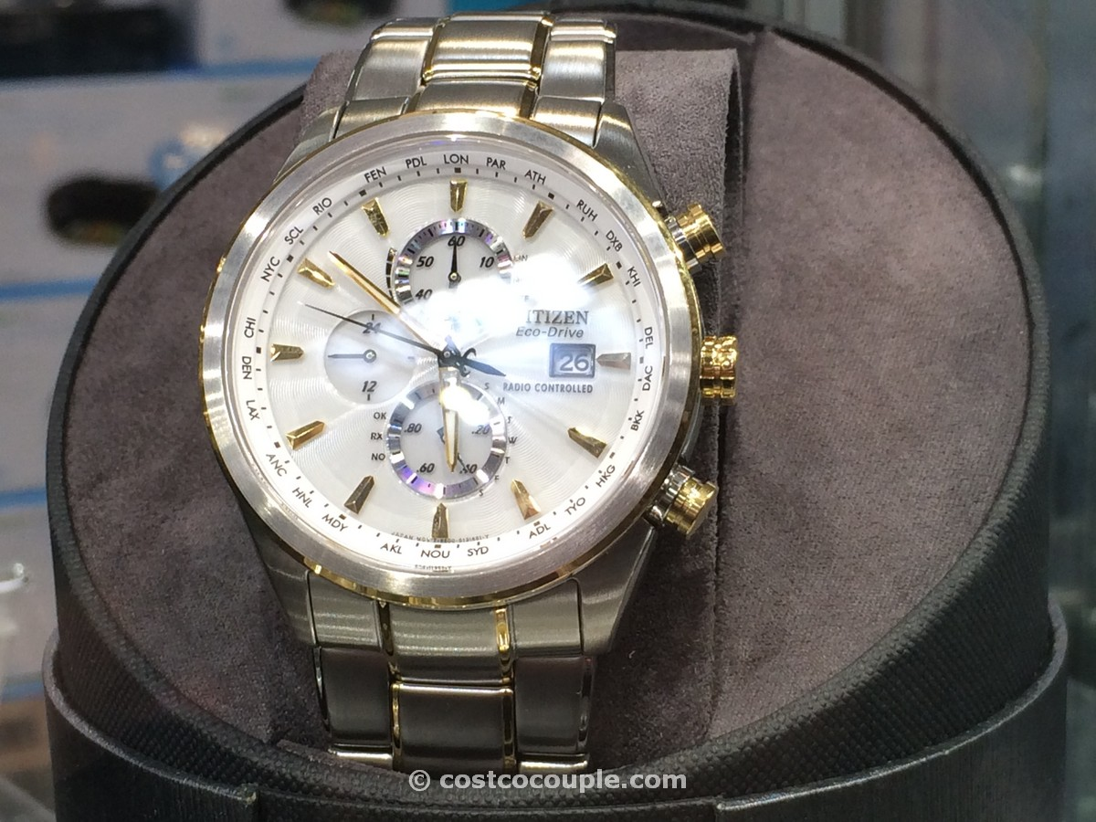 Citizen Eco-drive perpetual calendar two-tone Costco 2