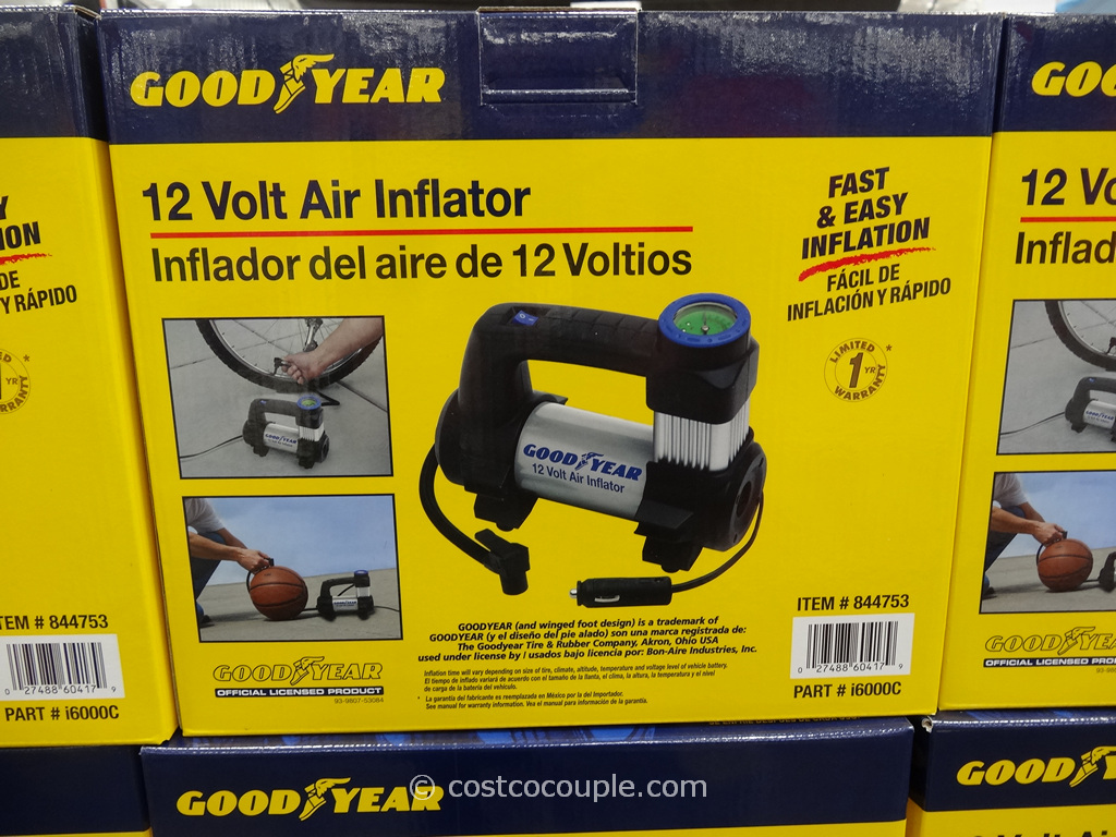 GoodYear 12 Volt Inflator Costco 2