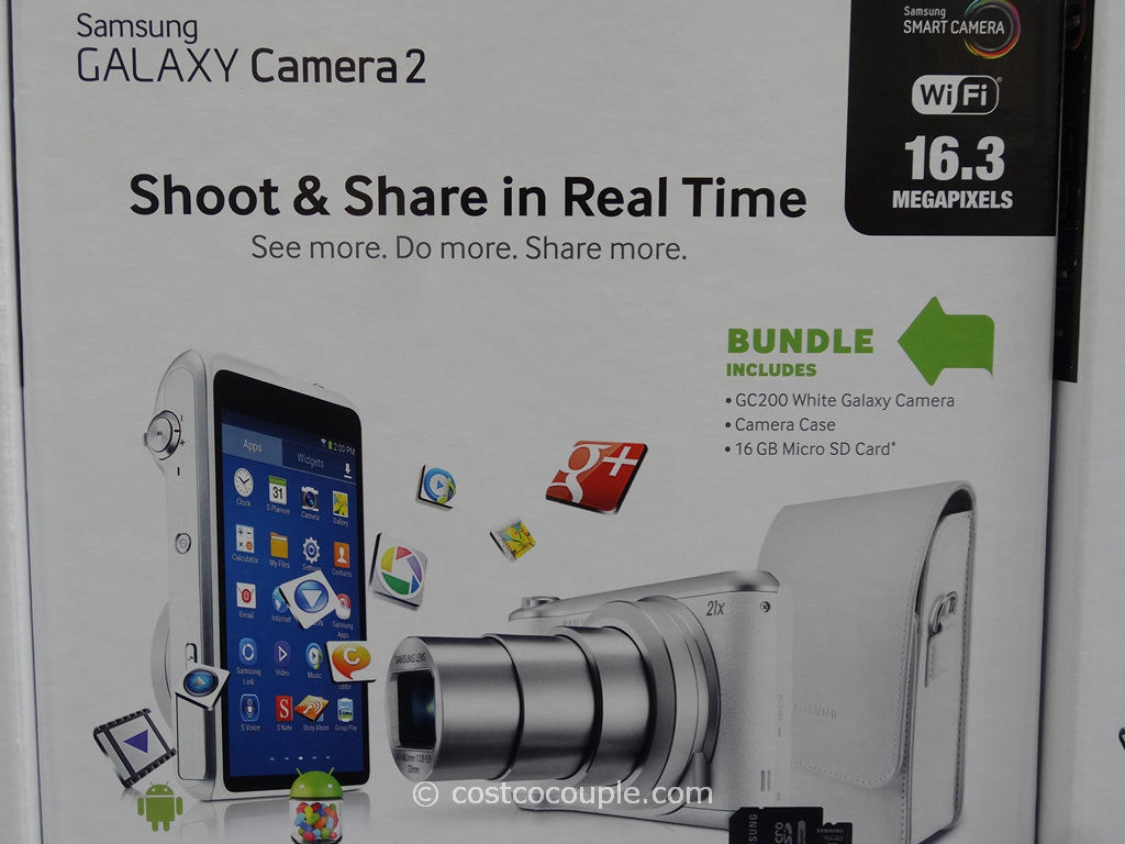 Samsung Galaxy Camera2 GC200 Costco 3