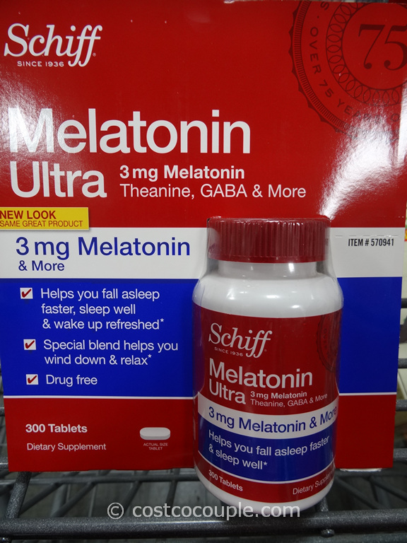 Schiff Melatonin Ultra Costco 1
