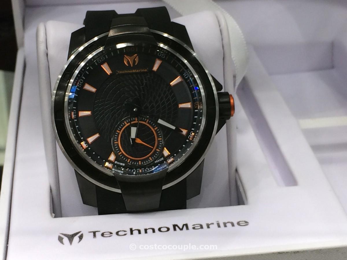 Technomarine UF6 Black Rubber Strap Costco 2