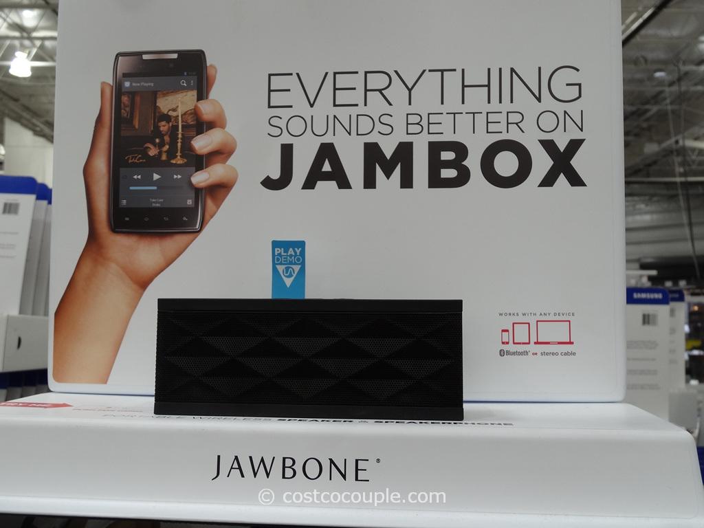 Jawbone Jambox Wireless Bluetooth Portable Speaker Costco 2