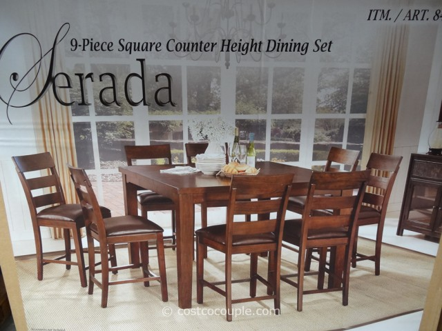 Universal Furniture Serada 9 Piece Counter Height Dining Set Costco 3