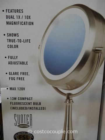Natural light mirror costco lightneasy sunter natural daylight vanity makeup mirror aloadofball Gallery