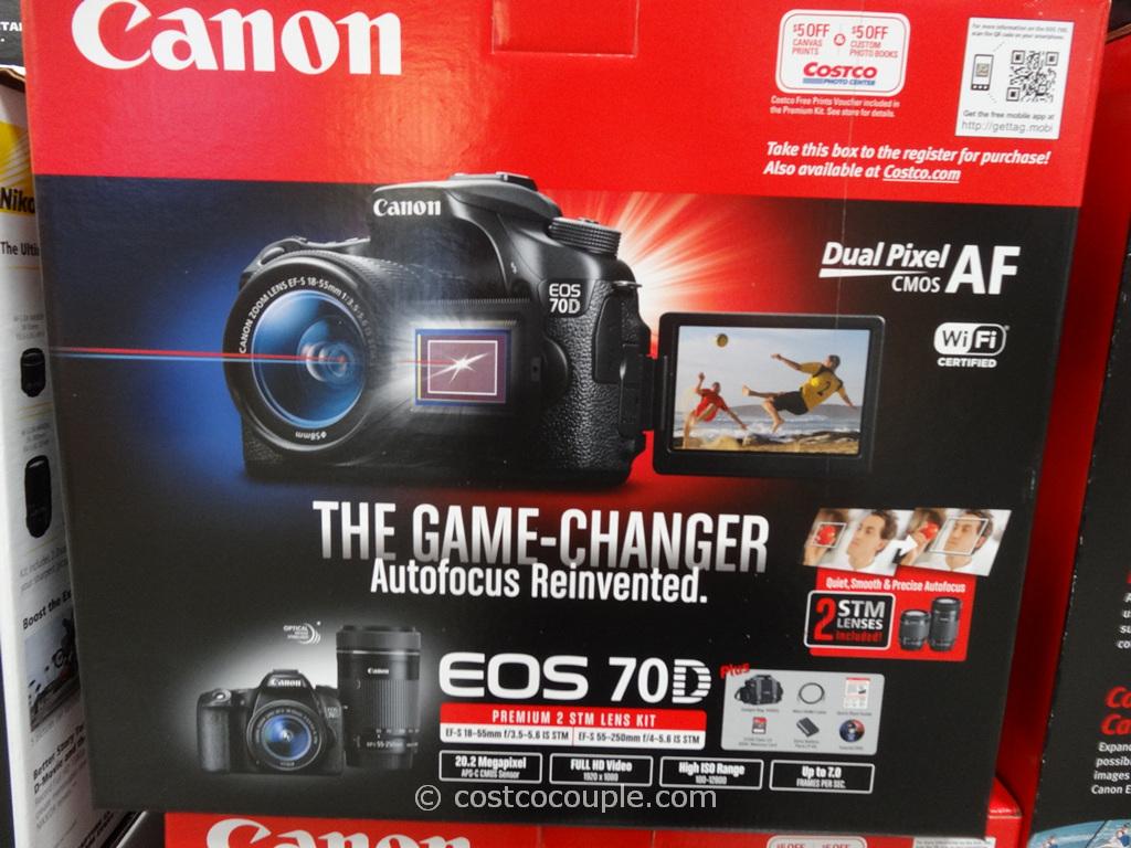 Canon EOS 70D Costco 1