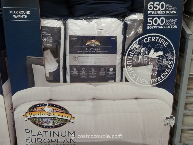 pacific coast down comforter Pacific Coast Platinum European Down Comforter pacific coast down comforter