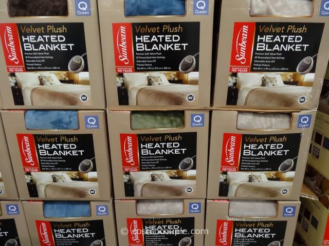 electric blanket costco Sunbeam Heated Queen Blanket electric blanket costco