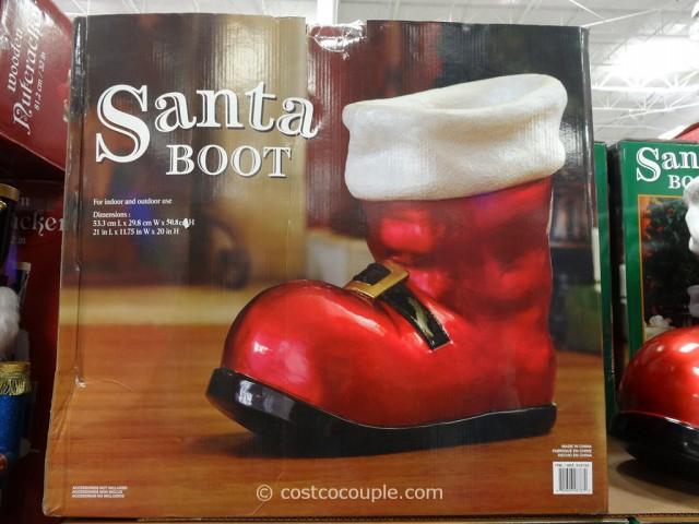 Santa Boot Costco 1