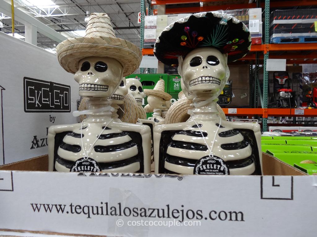 Skeleto Tequila Anejo Jalisco Mexico Costco 1