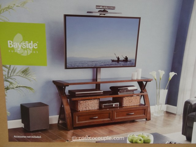 Or 3 Use The Provided Mount Brackets That Attach To Back Of Stand Your Tv On Like This