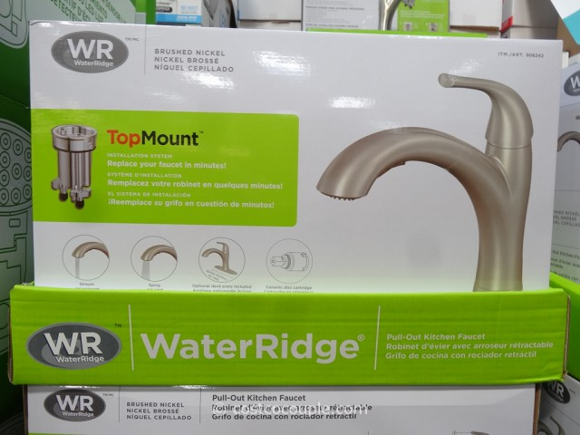 waterridge kitchen faucet water ridge pull out kitchen faucet 4440