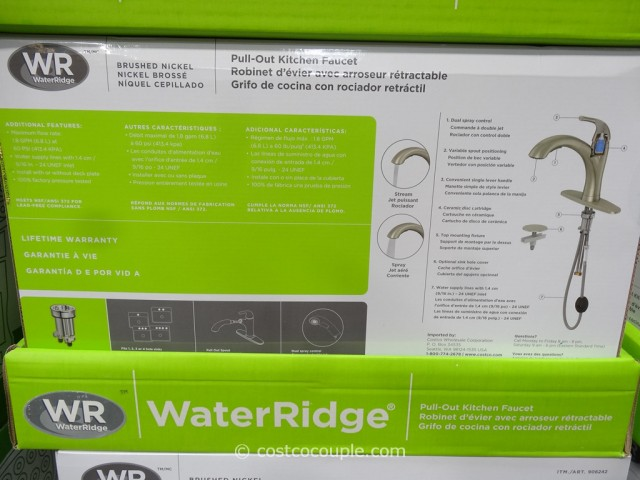 Water Ridge Pull Out Kitchen Faucet Costco 3