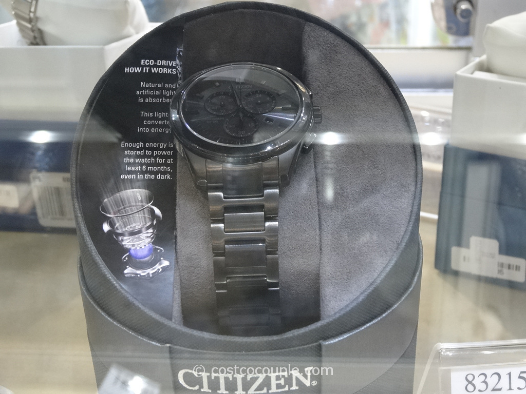 Citizen Mens Black Ion Plated Chronograph Costco 2