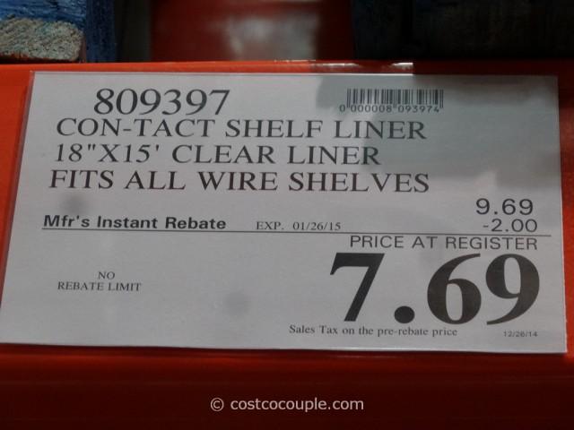 Con Tact Premium Shelf Liner Costco 1