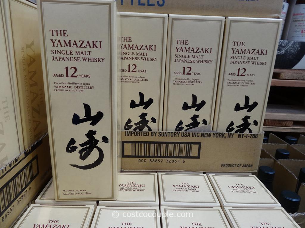 Suntory Yamazaki Single Malt Japanese Whisky Costco 1