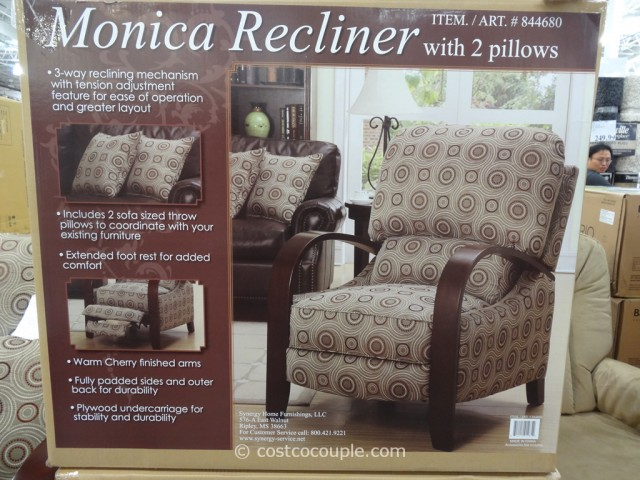 Synergy Home Monica Recliner Costco 4 2