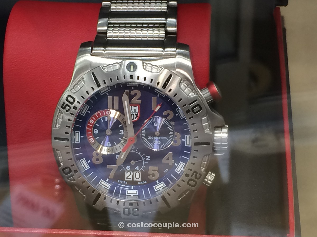 Luminox Dive Mens Blue Chronograph Costco 3
