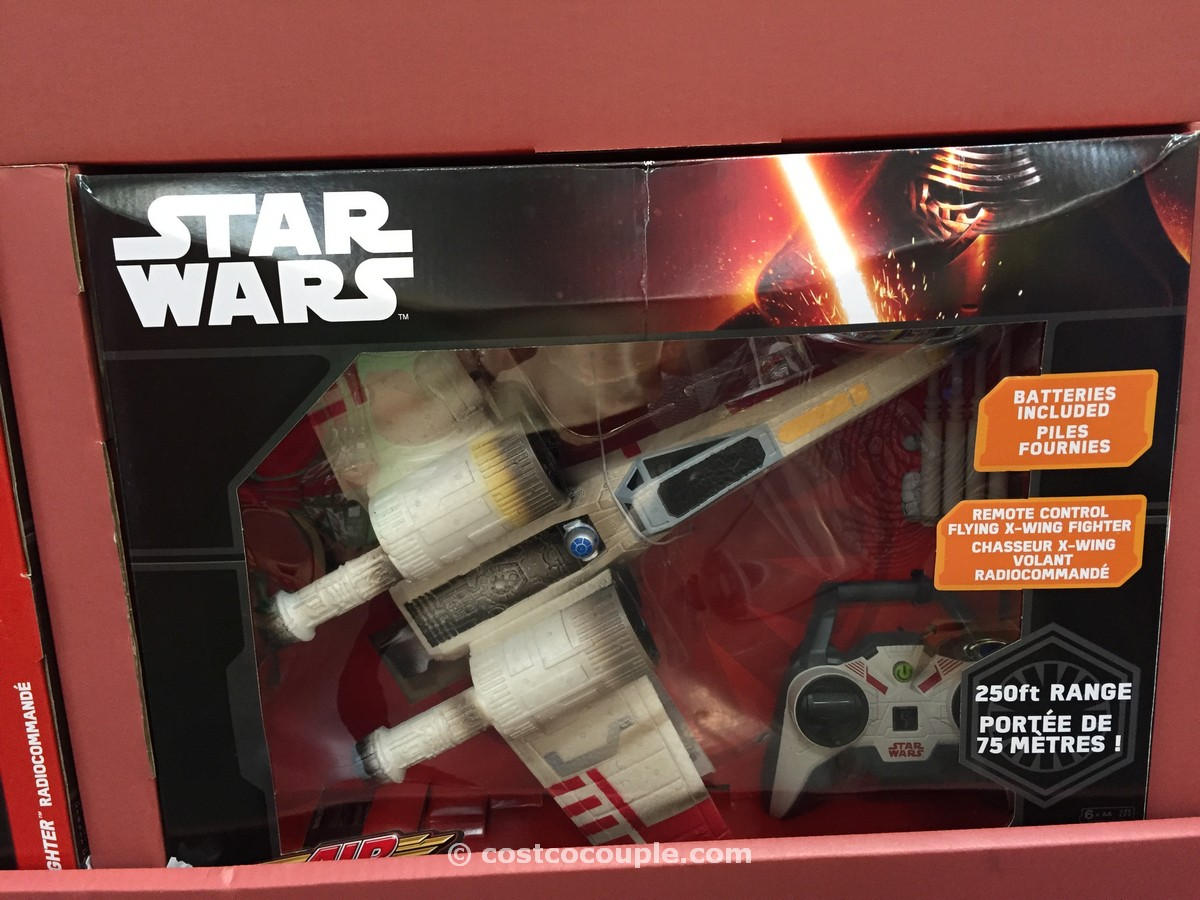 Air Hogs Star Wars X-Wing Starfighter Costco 1