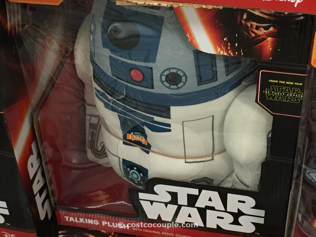 Disney Star Wars Talking Plush Toy Costco 3