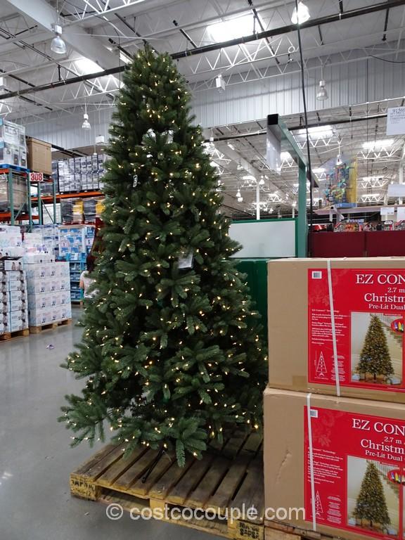 Artificial Prelit Christmas Trees Costco