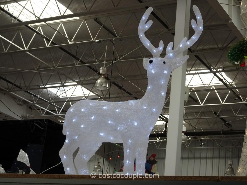 GE 12-Feet Pre-lit LED Christmas Tree