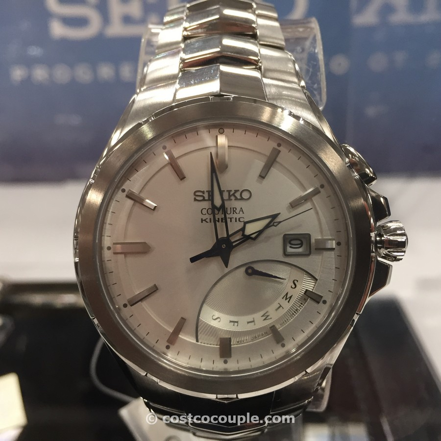 Seiko Kinetic Mens Watch Costco 5