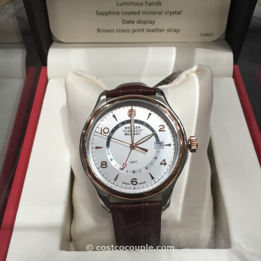 Wenger Swiss Military Classic Executive GMT Costco 2