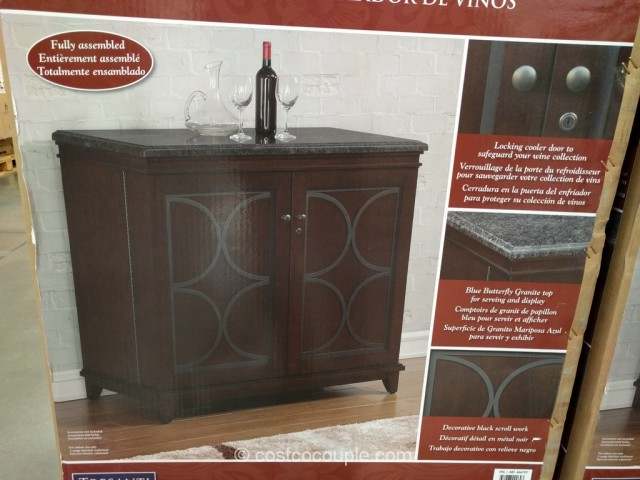 Tresanti Thermoelectric Wine Cooler And Cabinet Costco 4