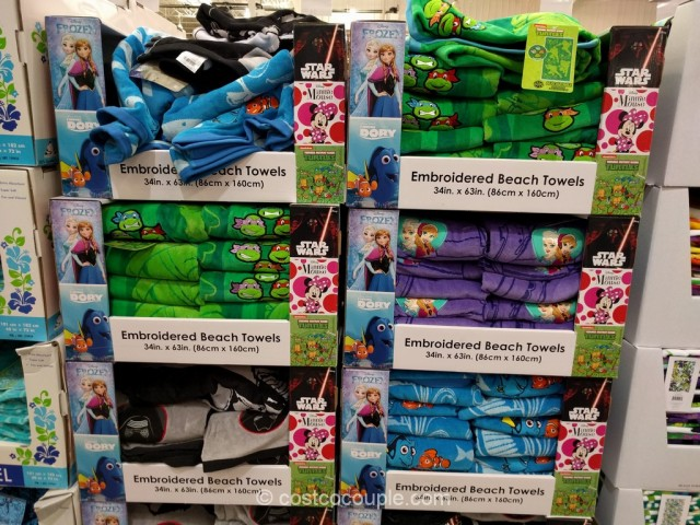 Embroidered Beach Towels Costco 1