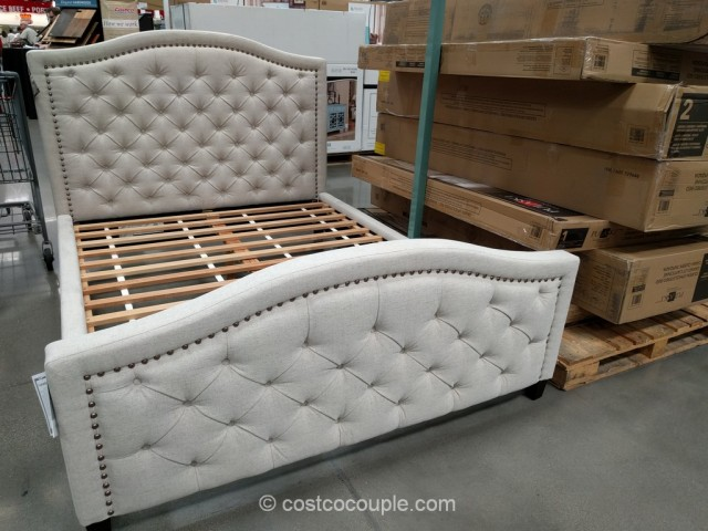 pulaski upholstered queen bed 11282 | pulaski upholstered queen bed costco 3 640x480