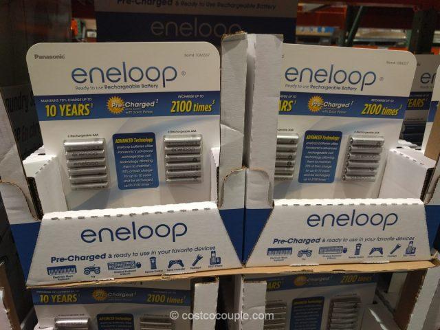 Eneloop AAA Rechargeable Batteries