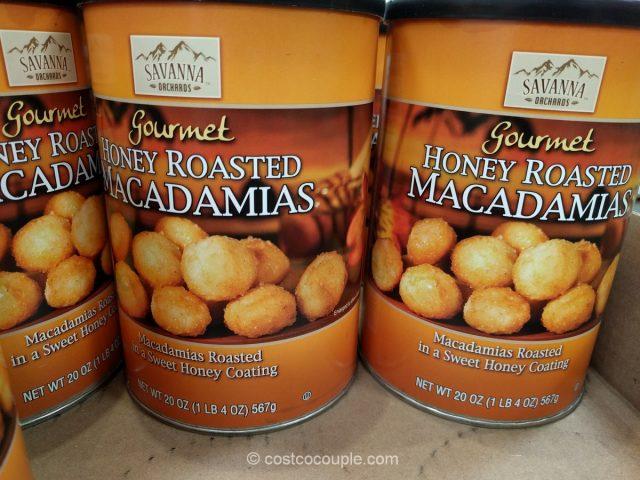 Savanna Orchards Honey Roasted Macadamias Costco
